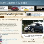 Web Design: Classic VW Bugs