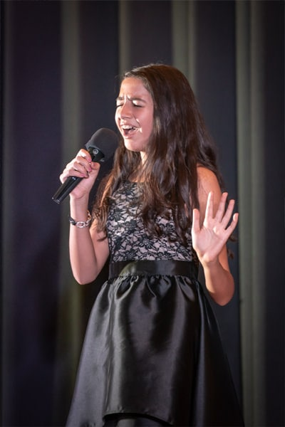 Event Photography - Talent Show Singer