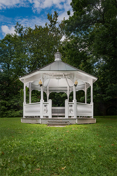 Light Painting Photography - Glen Ridge Gazebo