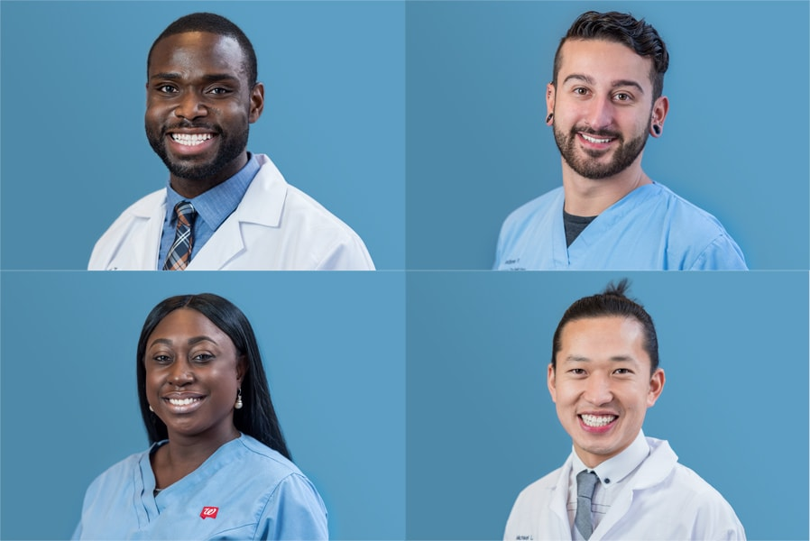 Team and Staff Headshots for Walgreens