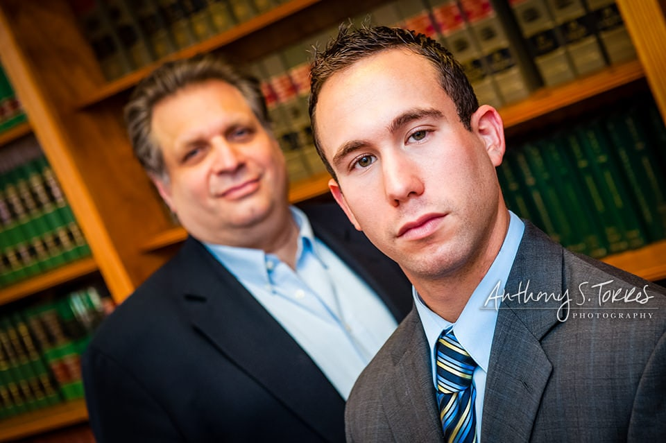 Hoboken's Marciano Law Firm - brought on a new employee under Frank Marciano, owner so we reinforced Frank's presence and strength