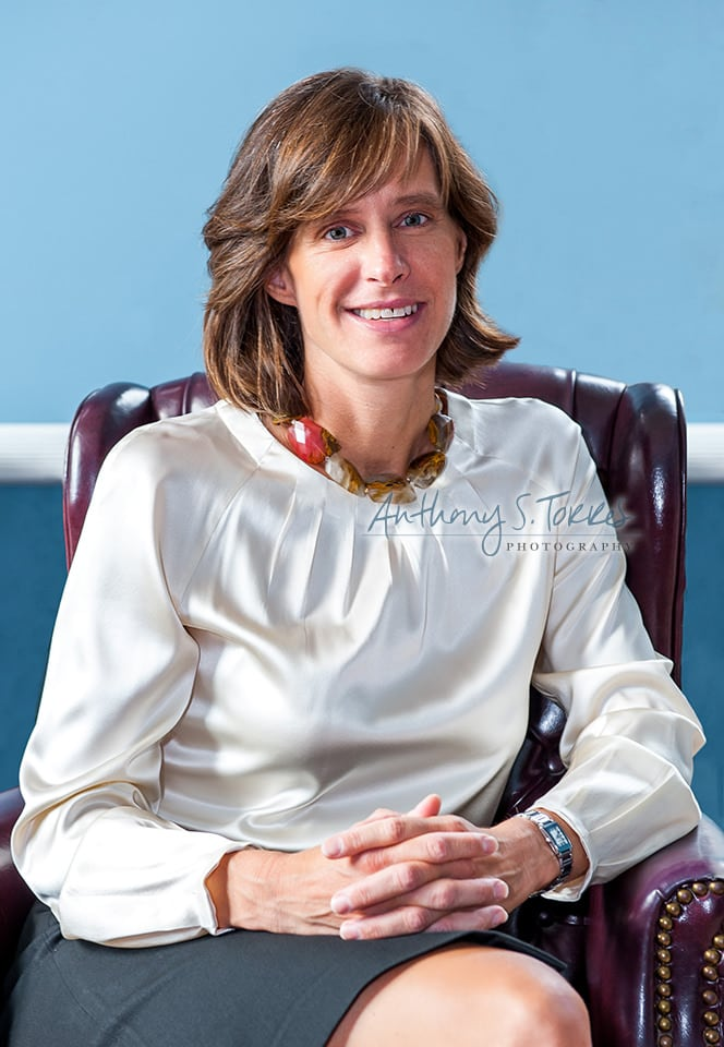 Portrait of Hoboken Mayor Dawn Zimmer